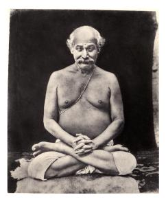 Lahiri Mahasaya's only photo