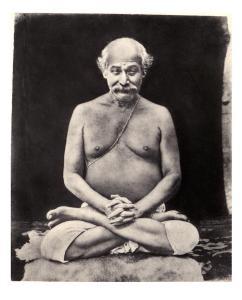 Lahiri Mahasaya's only photo